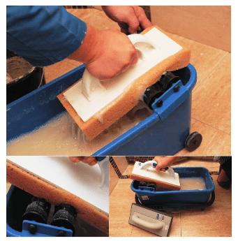 пластмасова кофа за фугиране