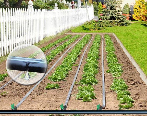 изградете поливната система в двора сами