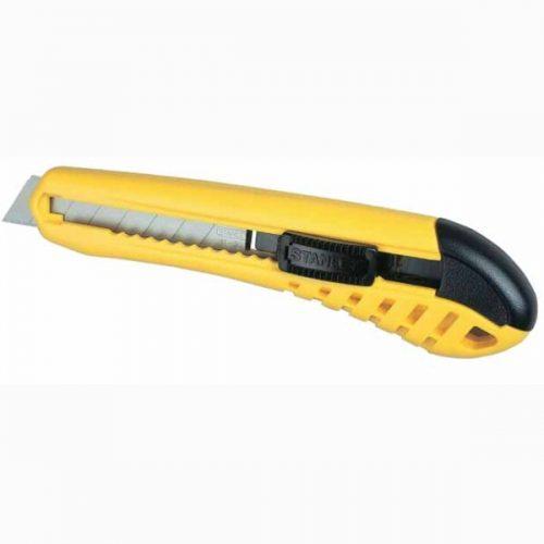 нож със самозаконтряне с пълнител stanley