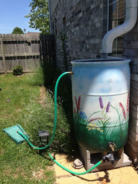 Как да оползотворя дъждовната вода в градината