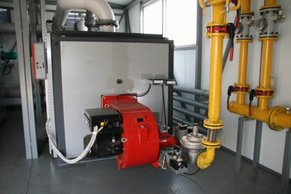 The big gas boiler