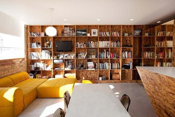 Библиотека, изработена от OSB