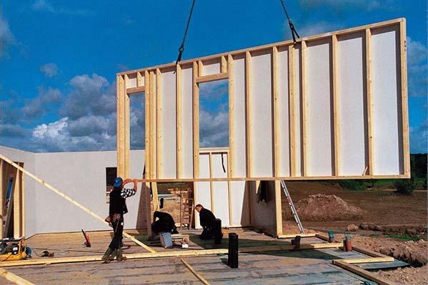 Монтаж на готов панел при сухо строителство.